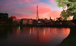 Paryż w Dalat Obraz Royalty Free