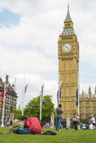 Pary w parlamentu kwadracie Fotografia Stock