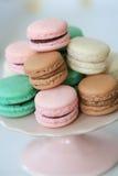 Paryjscy macarons Zdjęcie Stock