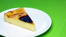 Paryjski Flan lub francuza Custard kulebiak - deser Obraz Stock