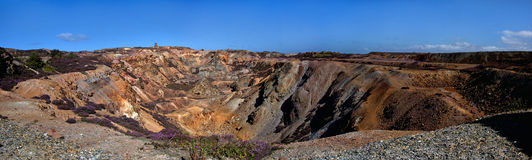 Parys Mountain Royalty Free Stock Photography