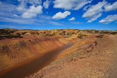 Parys Mountain Royalty Free Stock Image