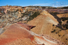 Parys Mountain Geology Stock Photography