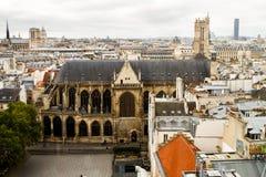 Paryscy dachy Zdjęcie Stock