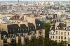 Paryscy dachy Obraz Royalty Free