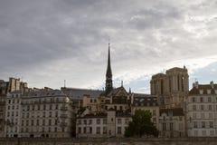 Paryscy dachy Obrazy Royalty Free