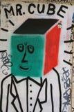 Paryscy graffiti Obraz Stock