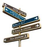 Paryscy przyciąganie wskaźniki Zdjęcie Stock