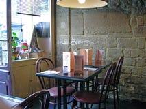 Paryska kawiarnia Zdjęcie Royalty Free