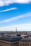 Paryska linia horyzontu. fotografia royalty free