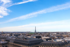 Paryska linia horyzontu. obrazy royalty free