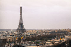 Paryska linia horyzontu Obrazy Stock