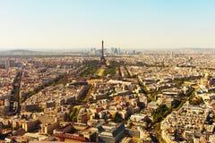 Paryska linia horyzontu, Francja fotografia stock