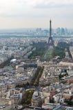Paryska linii horyzontu panorama Obrazy Stock