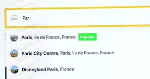 Paryska Online Hotelowa rezerwacja zdjęcie wideo