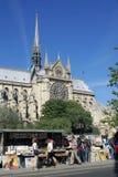 Paryska ulica Zdjęcia Stock