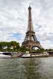Paryska wieża eifla Zdjęcie Royalty Free