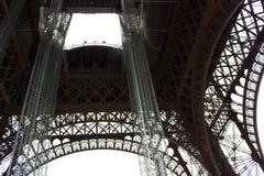 Paryska wycieczka turysyczna Eiffel Fotografia Royalty Free