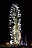 Paryski Ferris koło Fotografia Royalty Free