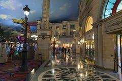 Paryski Hotelowy robi zakupy teren w Las Vegas, NV na Czerwu 26, 2013 Obrazy Stock
