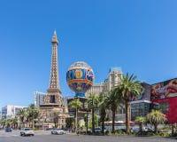 Paryski Las Vegas hotel, kasyno w Las Vegas i Fotografia Royalty Free