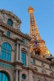 Paryski Las Vegas jest luksusowym kasynem na Las Vegas pasku i kurortem Zdjęcia Royalty Free