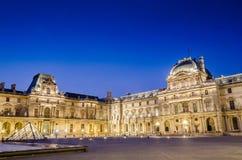 PARYSKI louvre muzeum Fotografia Royalty Free