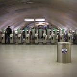 Paryski metro Zdjęcie Stock