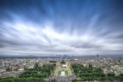 Paryski miasto głąbik Zdjęcie Royalty Free