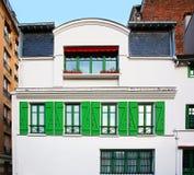 Paryski Montmartre typowy Zdjęcia Royalty Free
