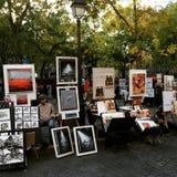 Paryski obrazek Fotografia Royalty Free