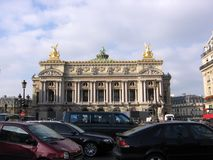 Paryski opery Opéra obywatel de Paryż Jeden stare instytucje swój rodzaj w Europa zdjęcie stock