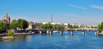 Paryski pejzaż miejski Obrazy Royalty Free
