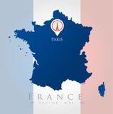 Paryski punktu zwrotnego projekt Obrazy Royalty Free