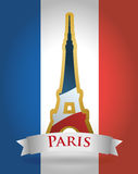 Paryski punktu zwrotnego projekt Fotografia Stock
