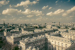 Paryski Retro styl Zdjęcia Stock