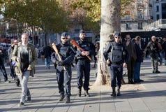 Paryski terroru atak Listopad 2015 Obrazy Stock