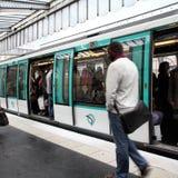 Paryski transport Obrazy Royalty Free