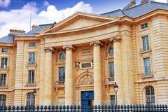 Paryski uniwersytet Obraz Royalty Free