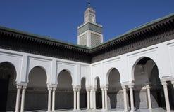 Paryski Uroczysty meczet Zdjęcia Royalty Free