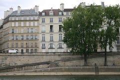 Paryski widok od rzeki Obraz Royalty Free