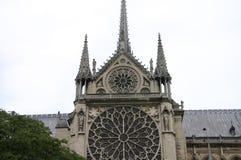 Paryski widok od rzeki Fotografia Royalty Free