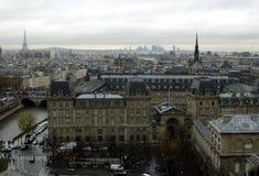 `paryski widok s Zdjęcia Stock