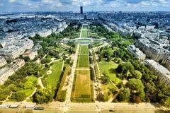 Paryski widok z lotu ptaka Obrazy Stock