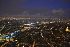 Paryskich widoków formularzowa wieża eifla Obraz Royalty Free