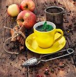 Parzenie herbata Zdjęcie Stock
