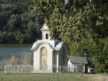 Small chapel at Pasarea Monastery, Romania Royalty Free Stock Photos