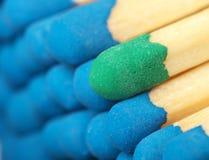 Pas assez bleu en tant que d'autres. Image libre de droits