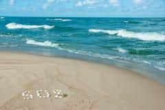 PAS auf der Küste Lizenzfreies Stockbild
