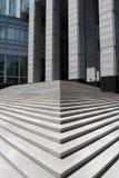 Pas concrets Image stock